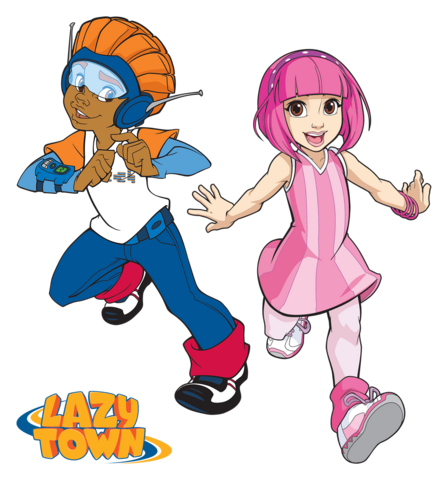 File:Nick Jr. LazyTown Pixel and Stephanie Illustrated.png