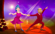 Nick Jr. LazyTown - Bessie Busybody and Mayor Meanswell Dancing