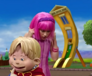 Nick Jr. LazyTown Jives' House in Remote Control