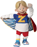 Nick Jr. LazyTown Ziggy Holding His Cape
