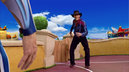 Sportacus and Robbie Rotten Western Duel 4