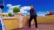 Sportacus and Robbie Rotten Western Duel 7