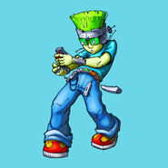 Nick Jr. LazyTown Goggi Mega Illustrated