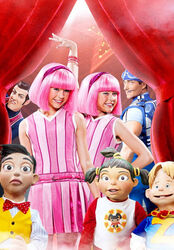 Nick Jr. LazyTown - Who's Who Promo Image