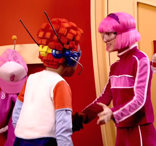 File:Nick Jr. LazyTown Pixel and Stephanie 4 - School Scam.png