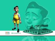 Nick Jr. LazyTown Stingy CGI