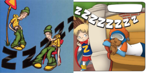 Nick Jr. LazyTown - Jives in Maggi Mjói Borðar Ekki Mat and Pixel in Sleep Troubles