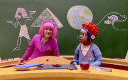 Nick Jr. LazyTown Pixel and Stephanie 3 - School Scam