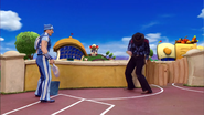 Sportacus and Robbie Rotten Western Duel 6