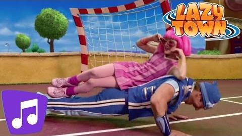 LazyTown Take A Vacation Music Video