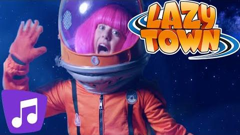 LazyTown Dancing on the Moon Music Video