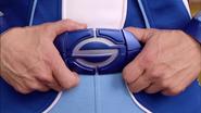 Sportacus squeezing his Belt