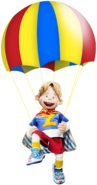 Nick Jr. LazyTown Ziggy with Parachute