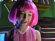Nick Jr. LazyTown Stephanie in the Unaired Pilot