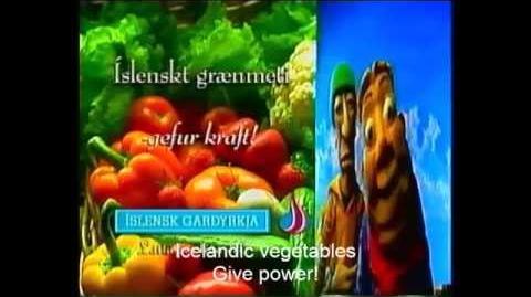 LazyTown advertisement - 2000