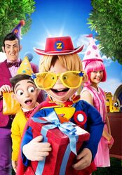 Nick Jr. LazyTown - The Greatest Gift Promo Image