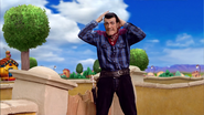 Robbie Rotten The Cowboy but without Hat