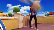 Sportacus and Robbie Rotten Western Duel 5