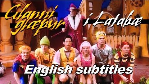 Glanni Glæpur Í Latabæ -- English subtitles Latibaer - LazyTown (1999)