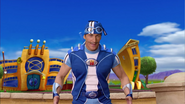 Sportacus Ready for the Duel