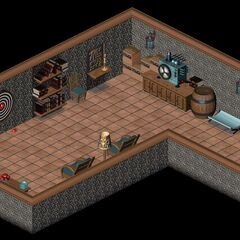 The basement of the house in LBA2