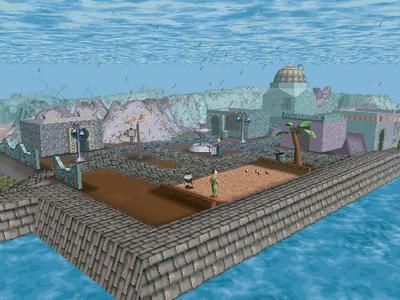 Desert Island Raining