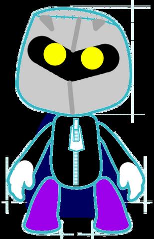 File:Meta Knight Sackboy.png