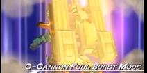 O Cannon Full Burst Mode
