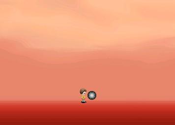 Red sky orb