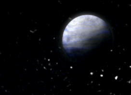 Blue planet orb 2