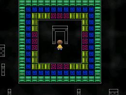 Rainbow tiles world portal to sub-area