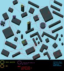 Teleport maze map (LcdDem ver 0.020) by Bubblewhisper