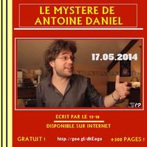 Le Mystère de Antoine Daniel - Le livre
