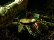 Omelette aux champignons et eau du marais 2