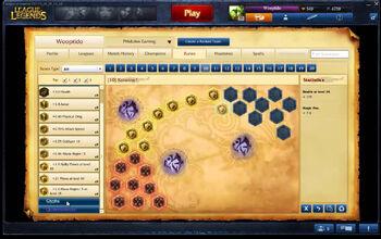 Runes-setting
