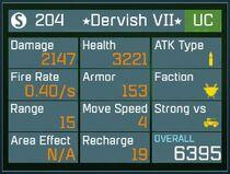 Dervish(UC)lvl40stats
