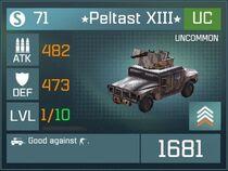 Peltast XIII UC Lv1 Front