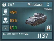 Minotaur C Lv1 Front