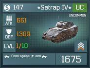 Satrap IV UC Lv1 Front