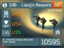 Liang's Reapers SR Lv1 Front