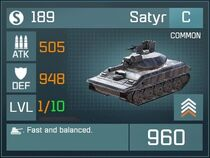 Satyr C Lv1 Front
