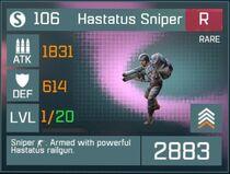 Hastatus Sniper R Lv1 Front