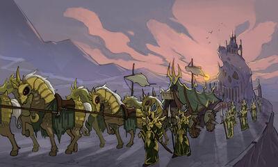 Noxus marching