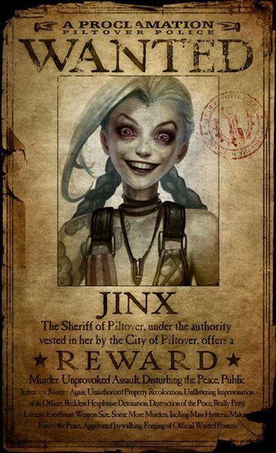 Jinxwanted