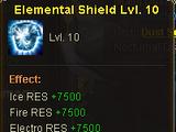 Elemental Shield Lvl. 10