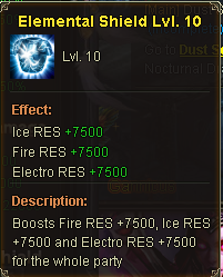 Elemental Shield Lv 10