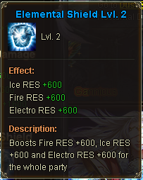 Elemental Shield Lvl 2