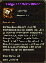 Large Feaster Chest
