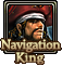 Navigation King Icon