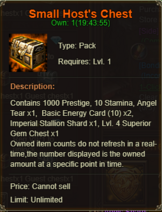 Small Host Chest